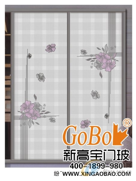 丝印艺术工艺整体衣柜艺术玻璃