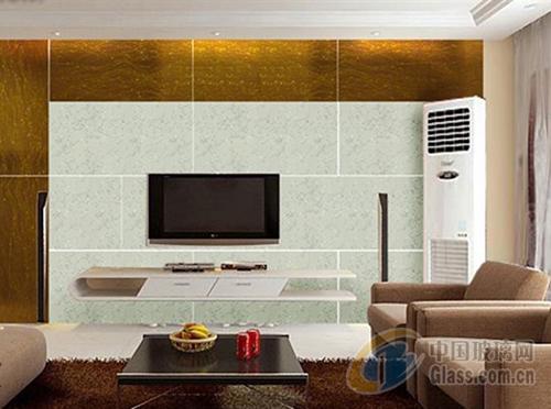 艺术玻璃电视机背景墙装修施工技巧