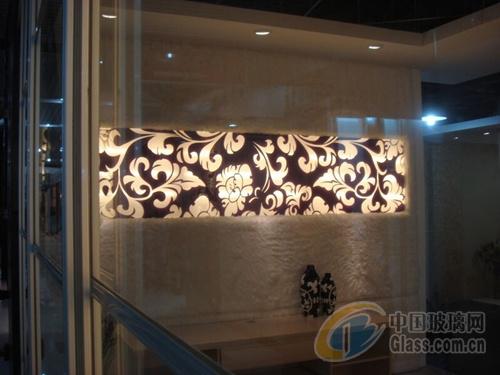 艺术玻璃通道装饰应用方案图片