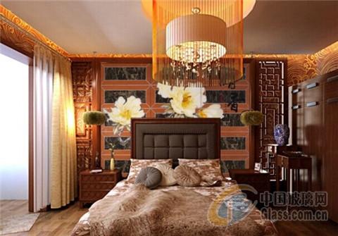 中式古典風格臥室裝修效果圖-玻璃資訊-中國玻璃企業