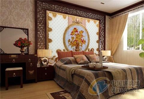 中式古典风格卧室装修效果图-玻璃资讯-中国玻璃企业