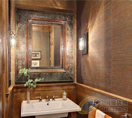 > 卫生间镜子装修及效果图欣赏        卫生间镜子效果图复古原生态