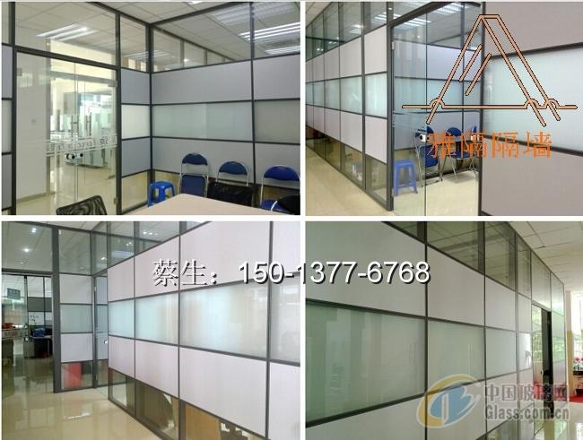 安装竖向木骨架,并与墙,柱及楼板连接,然后固定上,下槛,最后固定玻璃.