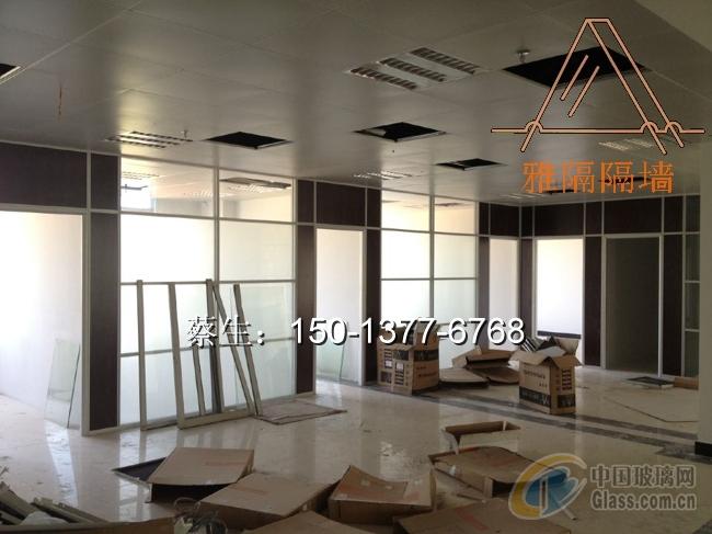 东莞屏风玻璃隔断-办公隔断-中国玻璃网