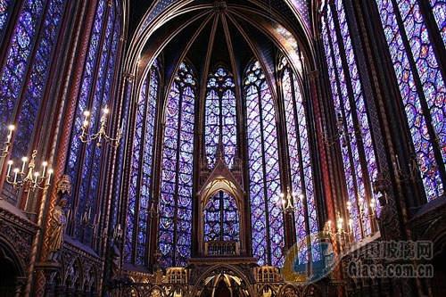 欧式建筑彩绘玻璃