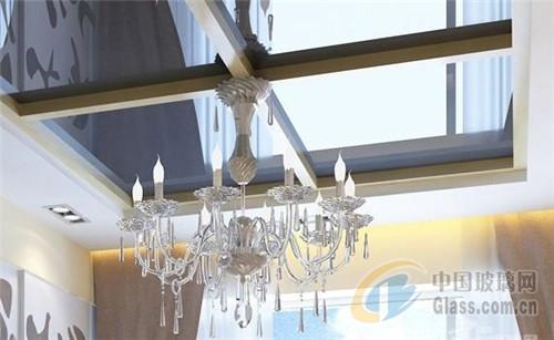 餐厅空间装修玻璃天花吊顶注意事项