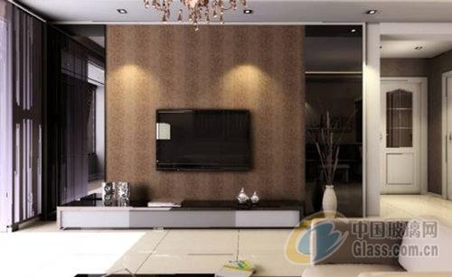 玻璃电视背景墙装修