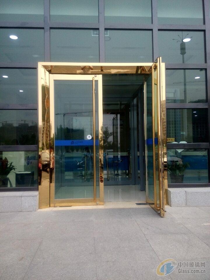 天津安装玻璃门专业制作安装公司