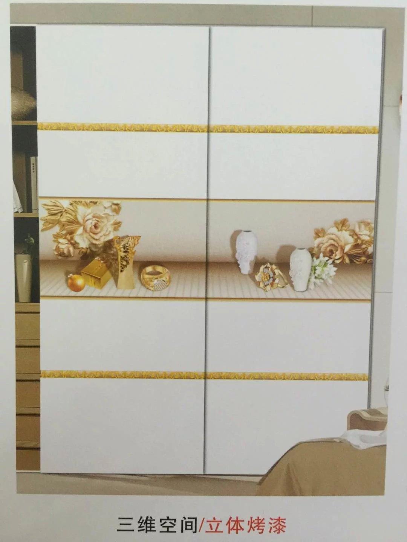 2016新款烫花烤漆衣柜门-装饰玻璃-中国玻璃网