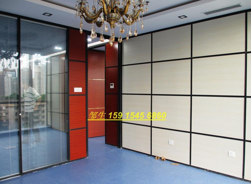 根据隔断框架的材料:铝合金框玻璃隔断