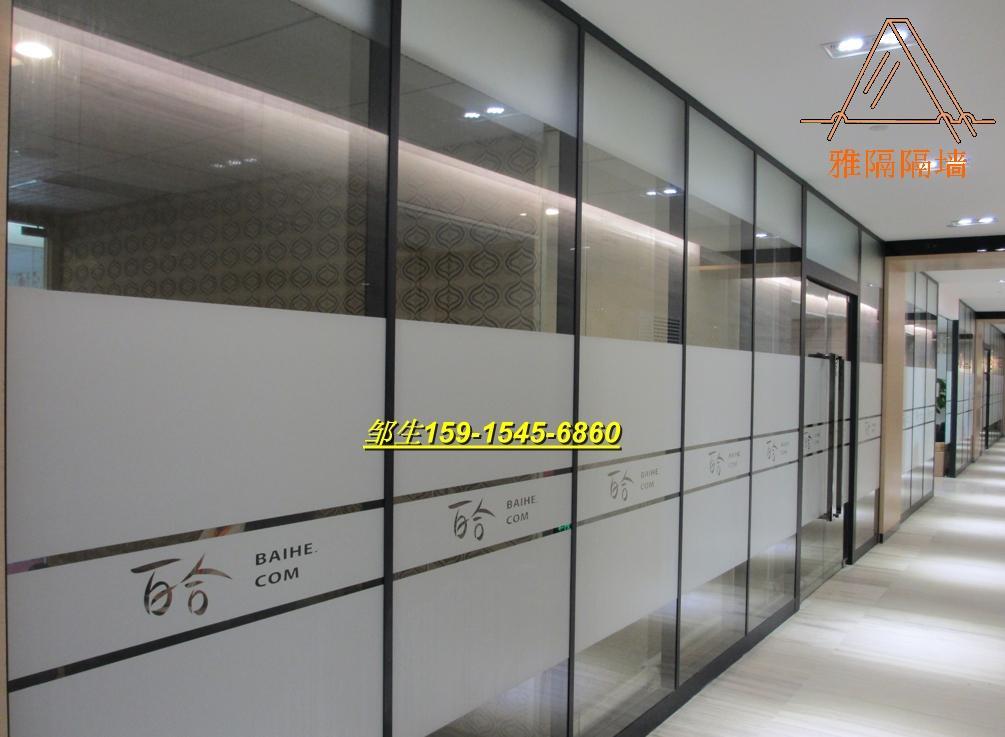 【深圳铝合金成品玻璃隔墙】报价