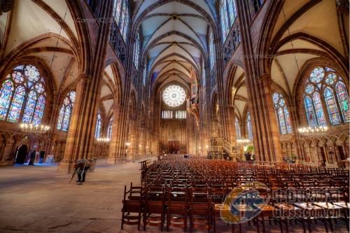 dip-tech数码彩釉玻璃教堂应用