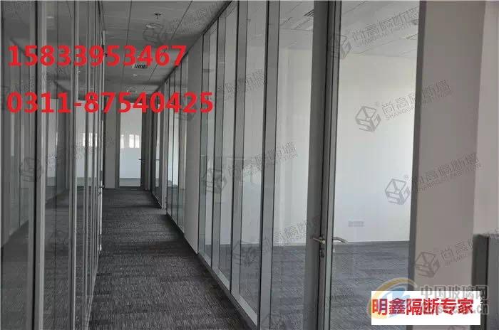 室内整个采光,美观大气的防火玻璃隔断,框架可选择颜色:全钢型材本色