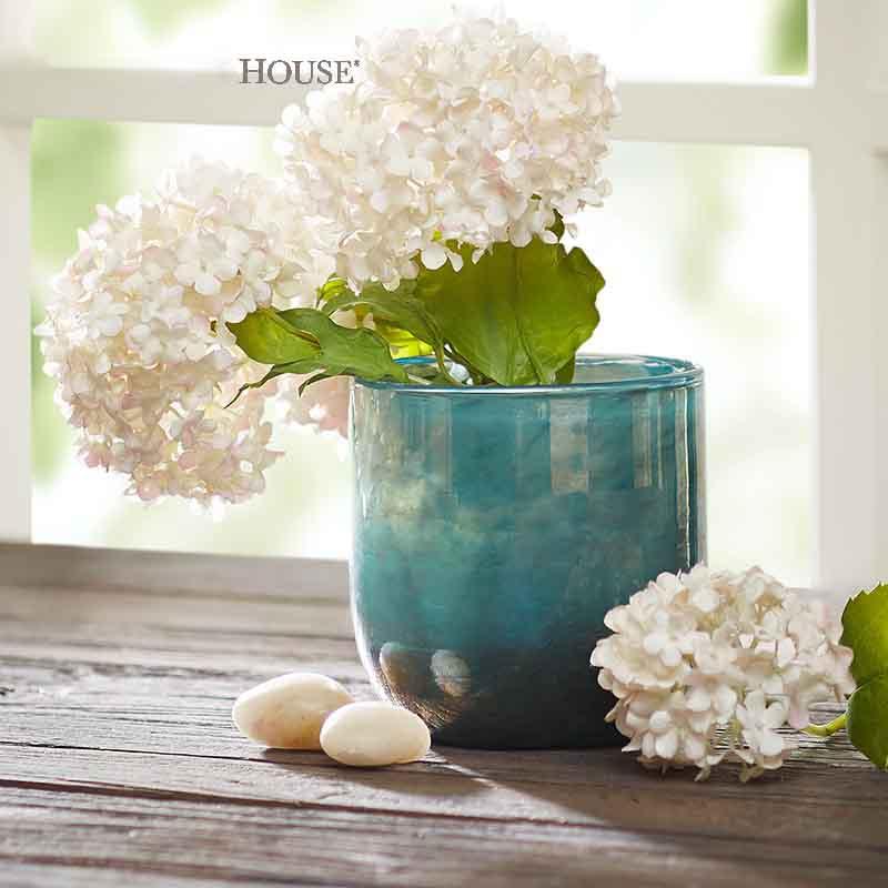 2016新款碗状圆柱形玻璃花瓶