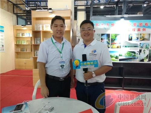 沙河玻璃网沙河展独家专访--中国吉恒源视频玻璃熊婆人图片