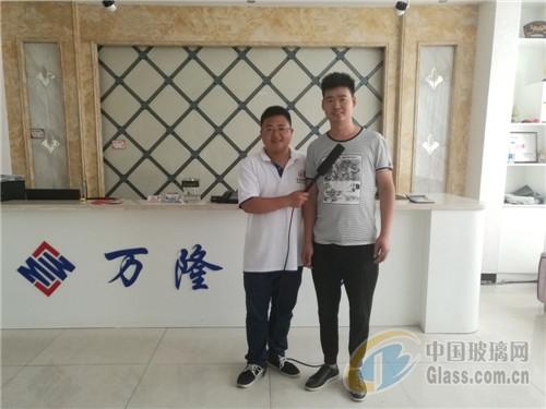 沙河视频网宿州展独家专访--沙河市万凯隆工玻璃中国图片
