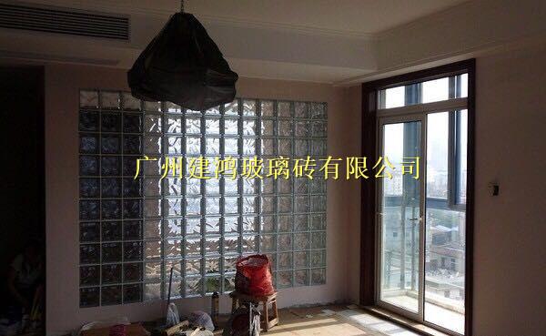 玻璃砖隔断墙 卫生间隔断
