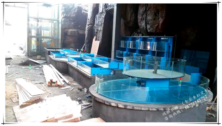 亚克力鱼缸工程,海鲜池工程,定制各种鱼缸水族箱(实木鱼缸)及专业的