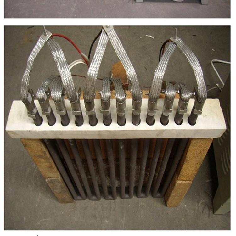 使用硅碳棒必须配备调压变压器或可控硅调压器及电压,电流表和温度