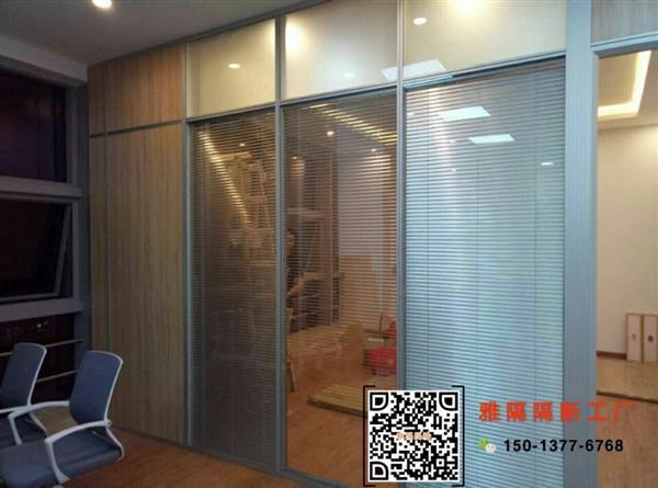 办公室玻璃隔断墙装修效果图-中国玻璃网推荐