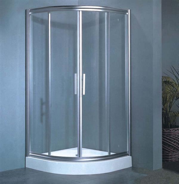 屏风 简易淋浴房钢化玻璃 沐浴房
