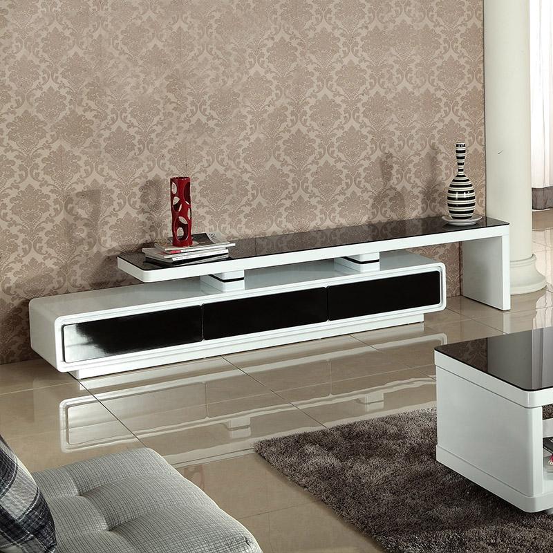 玻璃家具常用材料 电视柜茶几如何与沙发搭配