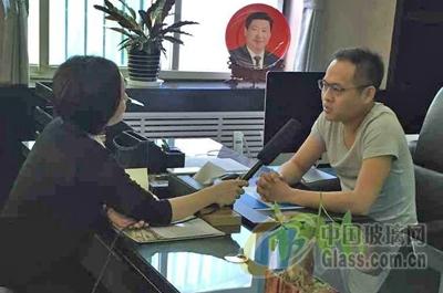 中国玻璃网专访:河北大光明实业集团