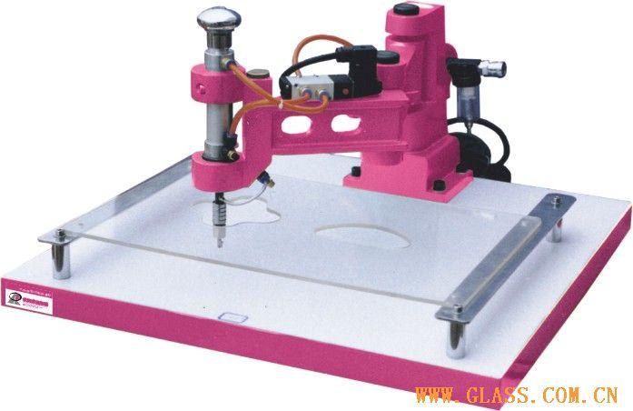 气动异型切割机Ⅲ型-玻璃生产设备-安徽省银锐玻璃图片