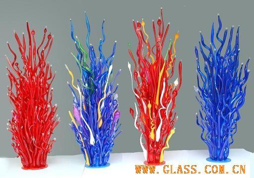 玻璃摆饰 玻璃树