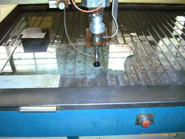 供应玻璃水切割(水刀)加工
