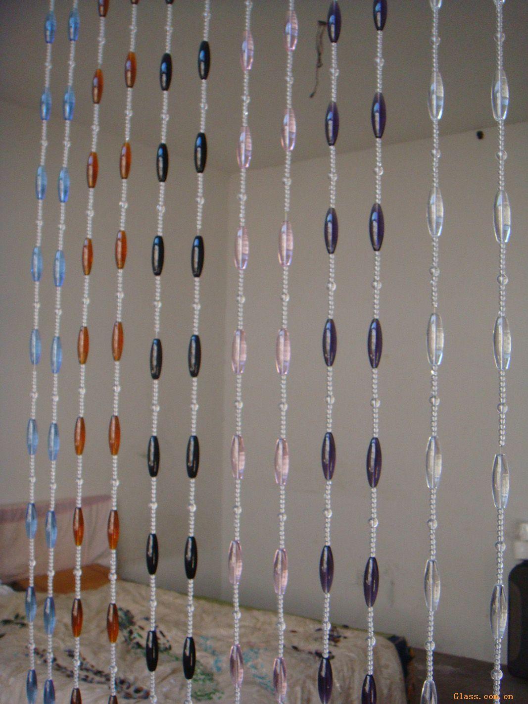 供应水晶珠帘-建筑玻璃-中国玻璃网