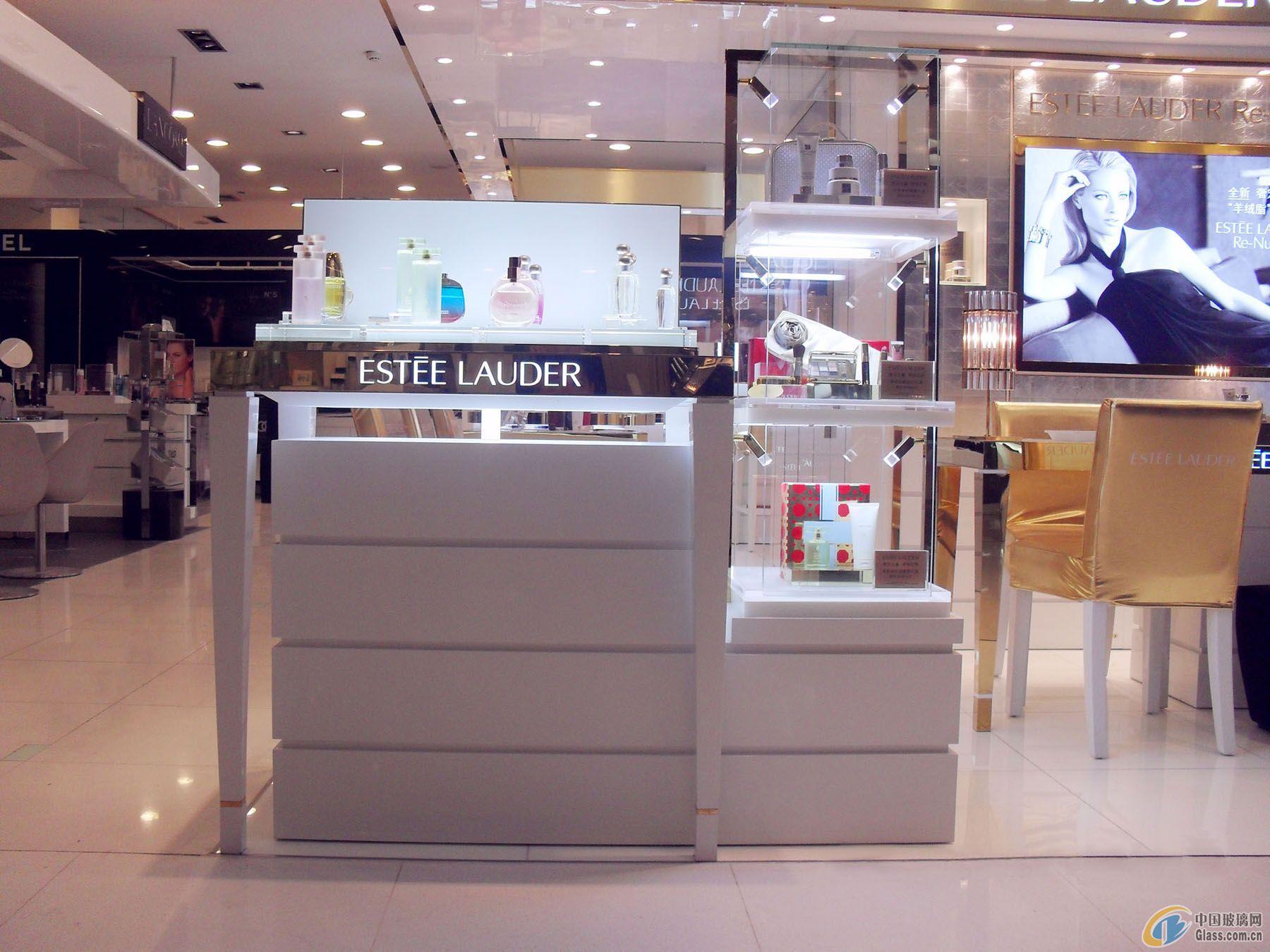 供应化妆品柜台玻璃盒