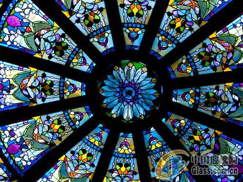 供应欧式彩绘穹顶-彩绘玻璃-中国玻璃网