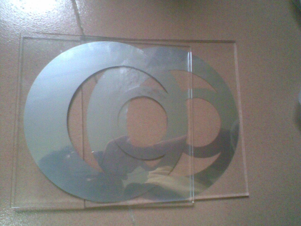 化玻璃镜面银油墨;
