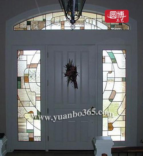 欧式彩色透明玻璃