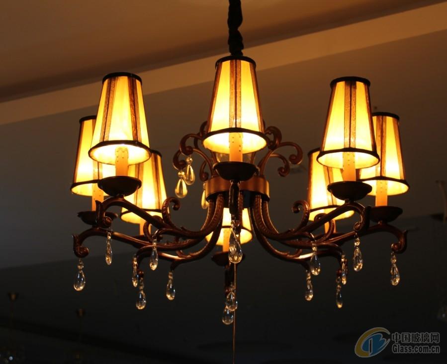 领潮水晶|水晶灯/水晶吊灯/铁艺弯管灯/客厅水晶灯/现代/欧式简约灯