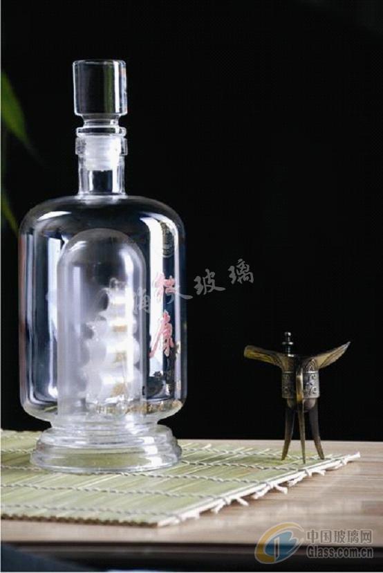 帆船工艺酒瓶-玻璃制品-海天玻璃工艺有限公司