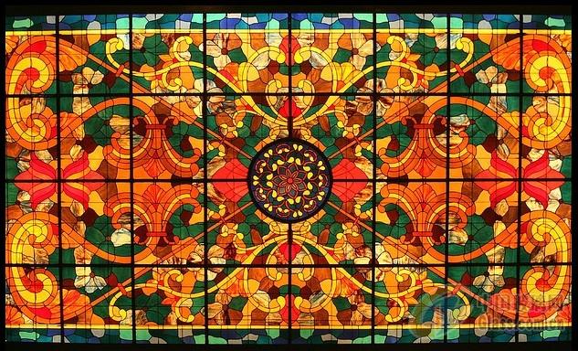 【彩色镶嵌玻璃】报价_供应商_图片-上海武魏玻璃制品有限公司;