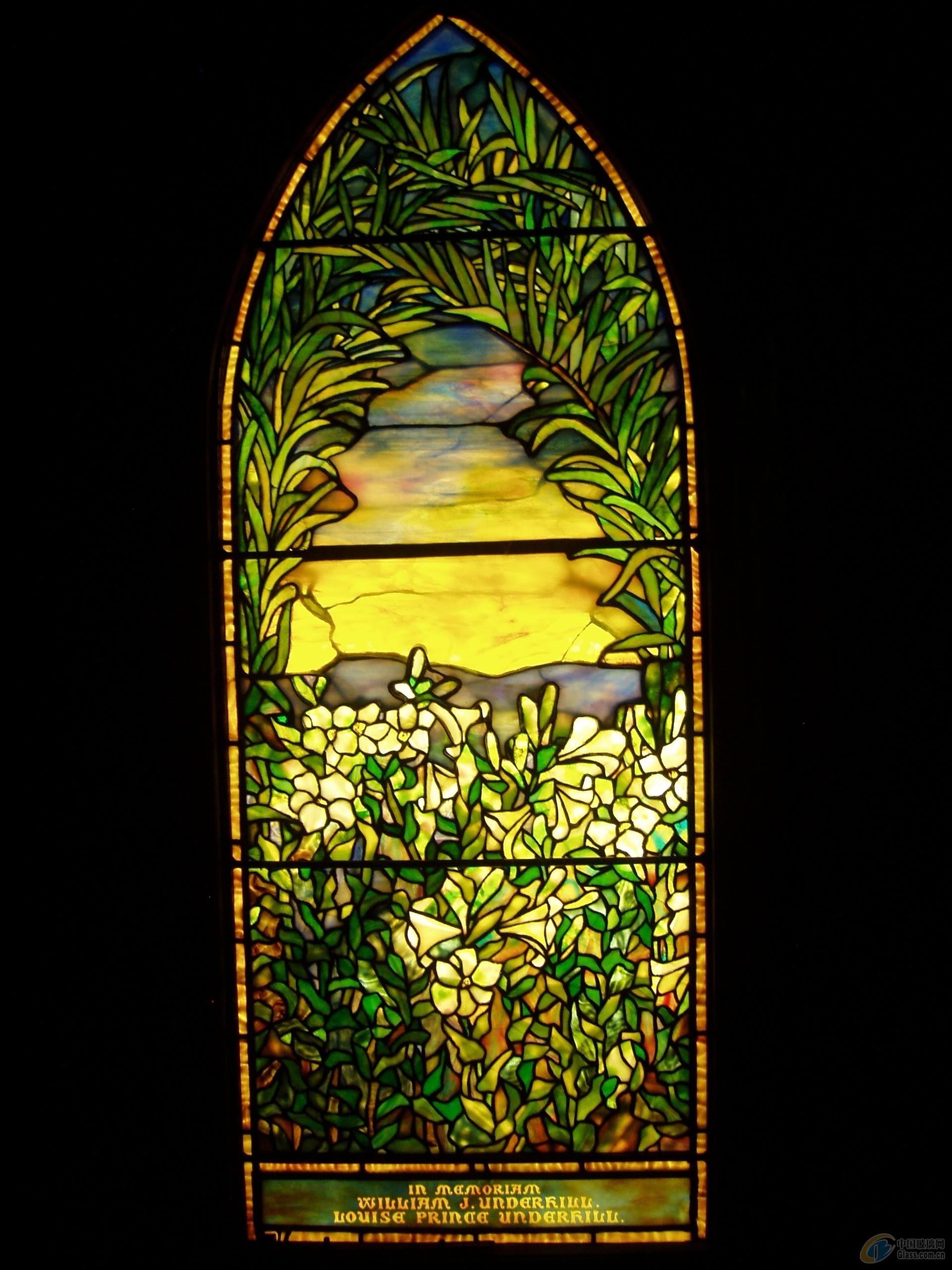 欧式教堂玻璃贴图