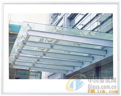 大连玻璃雨棚钢结构雨棚铝板雨棚-夹胶玻璃-中国玻璃网