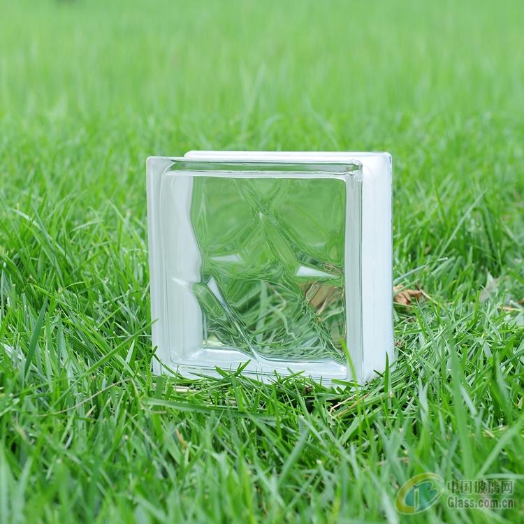 透明 河北/河北吉恒源海威玻璃砖/透明双星纹