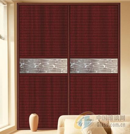 衣柜门玻璃腰线-工艺玻璃-中国玻璃网
