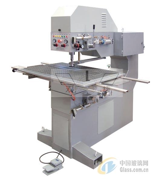 活动台面自动玻璃钻孔机