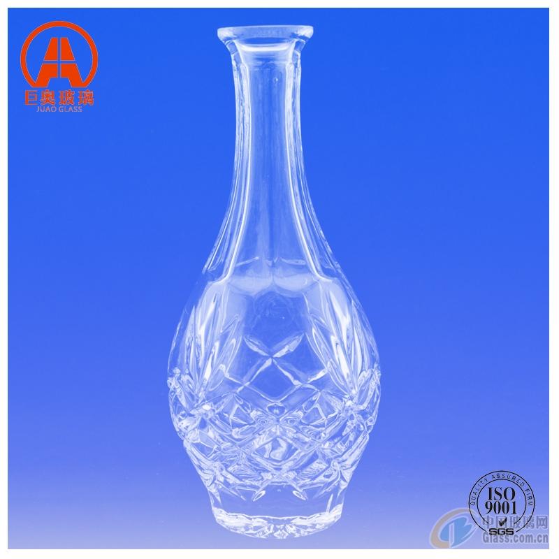 透明玻璃酒瓶