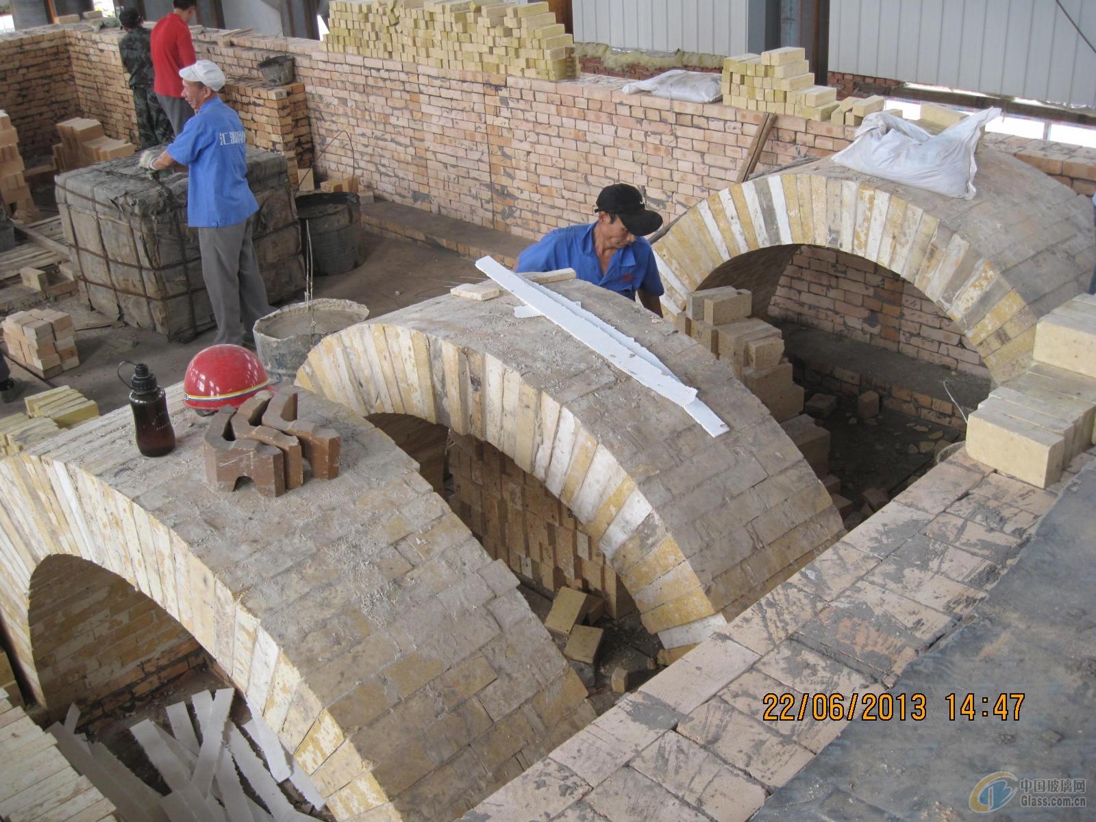 玻璃窑炉设计砌筑