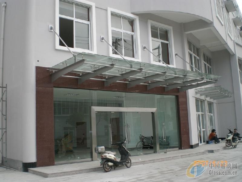 南京钢结构夹胶玻璃雨棚