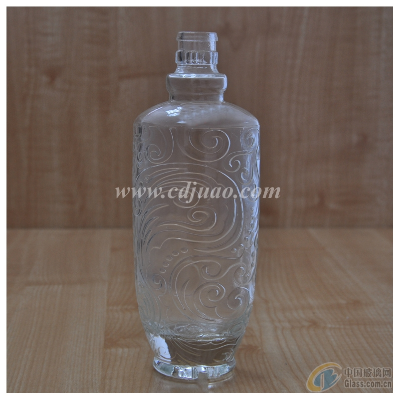 高档玻璃酒瓶