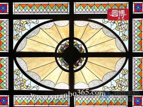 【欧式教堂彩绘玻璃穹顶】报价_供应商_图片-上海圆博