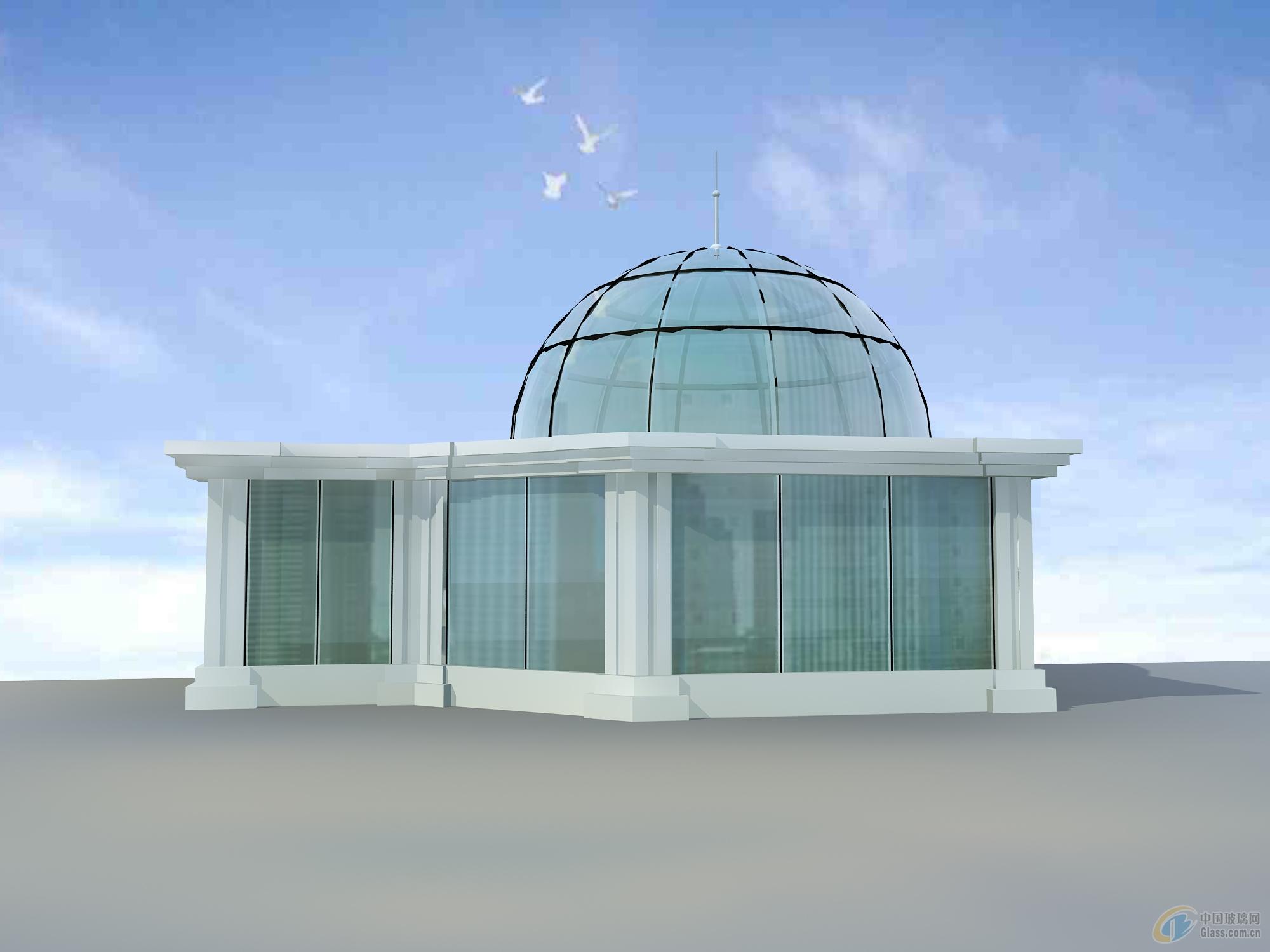 幕墙玻璃隔断安装大连玻璃阳光房