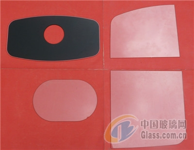 异形机加工玻璃样品
